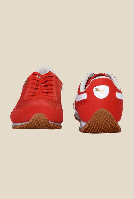 Puma Nepean DP Highrisk Red & White Sneakers