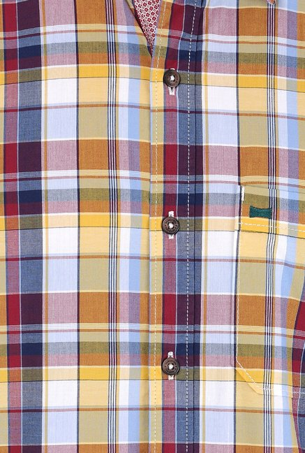 Basics Multicolor Checks Shirt