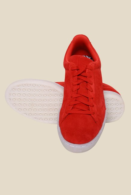Puma Suede Classic Colored High Risk Red Sneakers