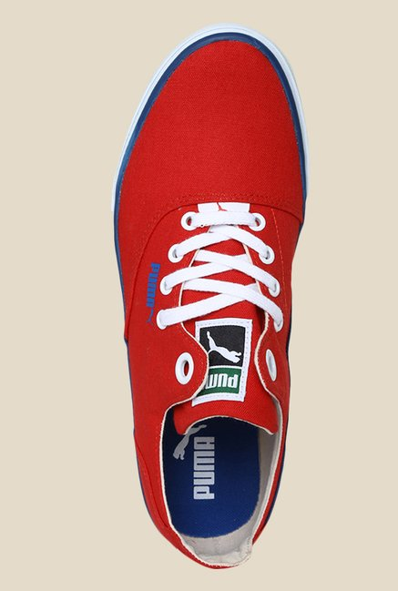 Puma Limnos CAT 3 DP Highrisk Red & White Sneakers
