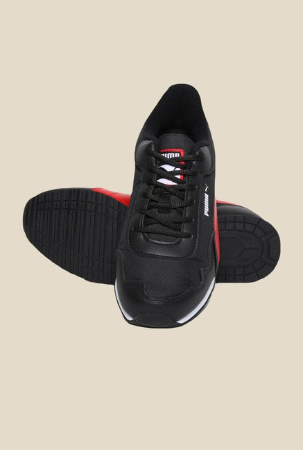 Puma Epoch DP Black & Highrisk Red Sneakers