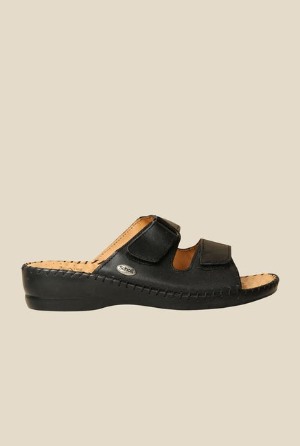 Scholl Black Casual Sandals