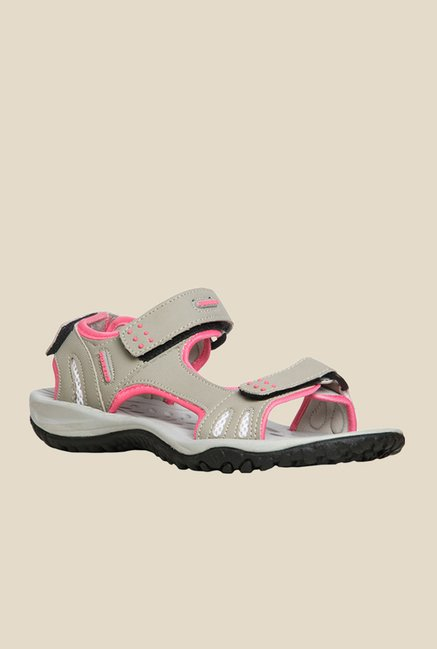 Power Aspen Beige & Pink Floater Sandals