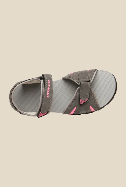 Power Rafter Grey & Pink Floater Sandals