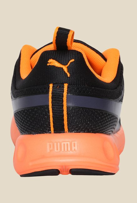 Puma Carson Runner Inno DP Black & Fluo Peach Running Shoes