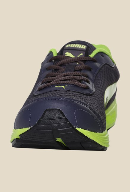 Puma Reef Fashion DP Periscope & Lime Running Shoes