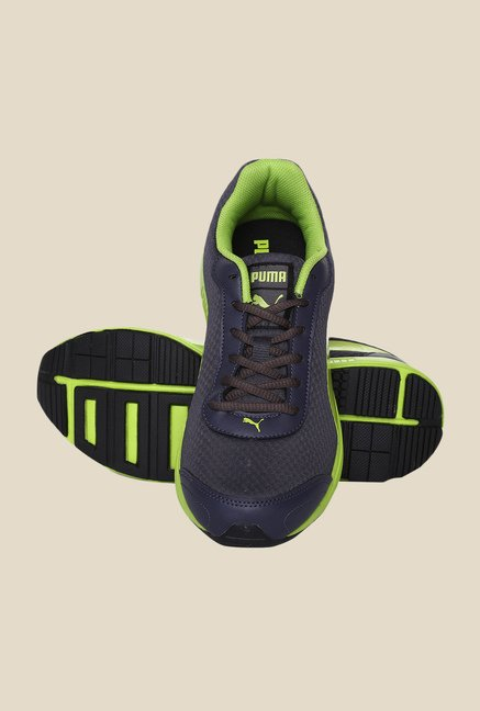 d6c51e7b97a625 Buy Puma Reef Fashion DP Periscope   Lime Running Shoes For ...
