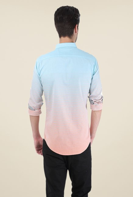 Basics Blue & Pink Ombre Shirt