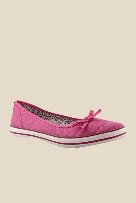 North Star Kethy Pink Ballet Flats