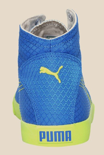 Puma Drongos DP Princess Blue & Lime Sneakers