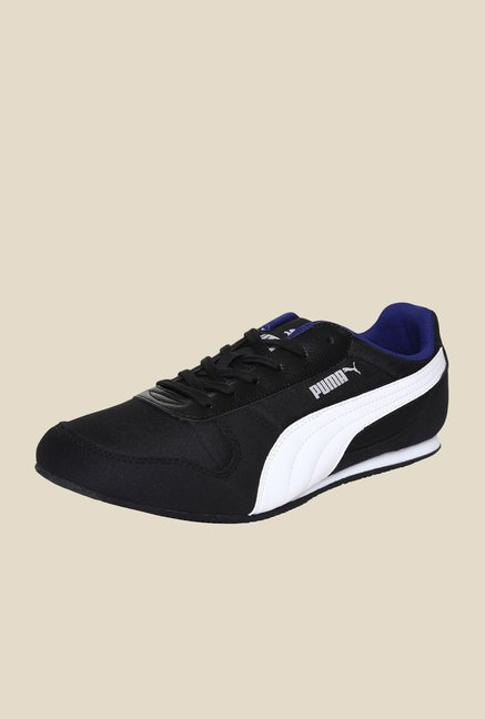 Puma Superior DP Black & White Sneakers