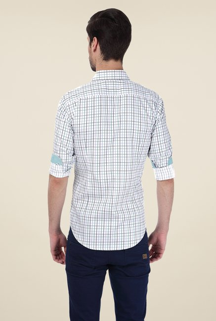 Basics Green Checks Shirt