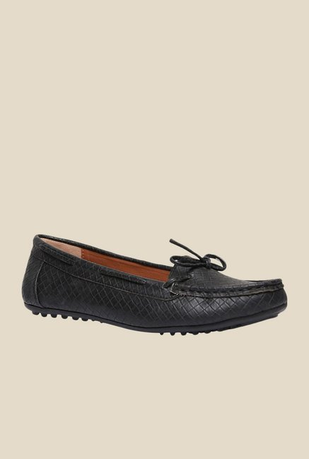 Bata Kelly Black Loafers