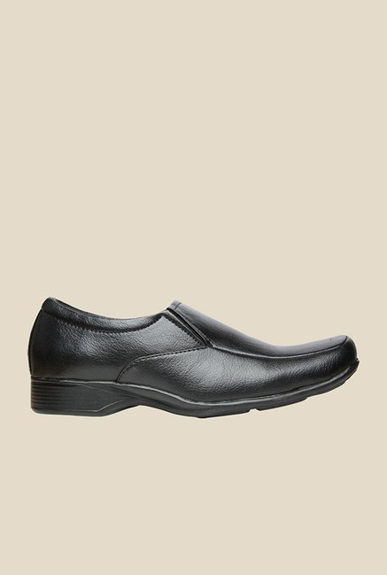 Bata Quin Two Black Slip-Ons