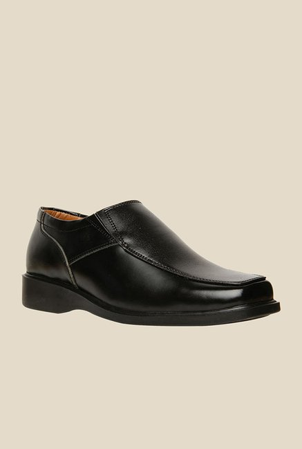 Bata Scott Black Slip-Ons