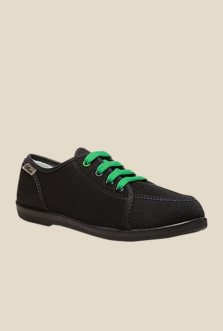 Bata Alive Black & Green Casual Shoes