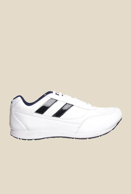 Power Foot Thrill White Casual Shoes