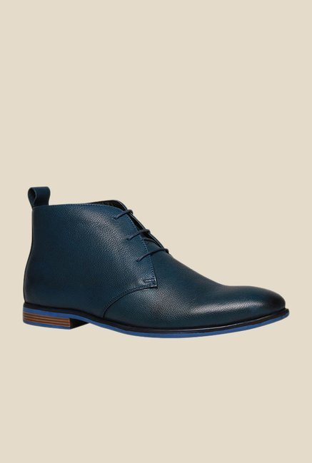Bata Bill Navy Chukka Shoes