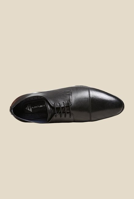 Hush Puppies Jude Black Derby Shoes