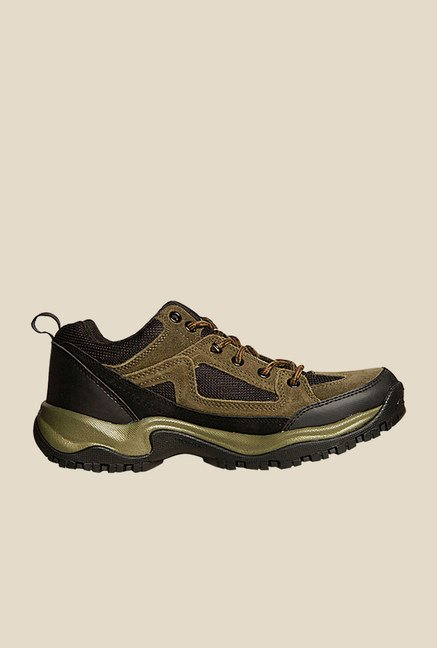 Power Fortuner Olive Green Casual Shoes