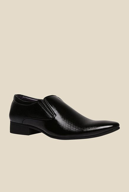 Bata Barry Black Slip-Ons