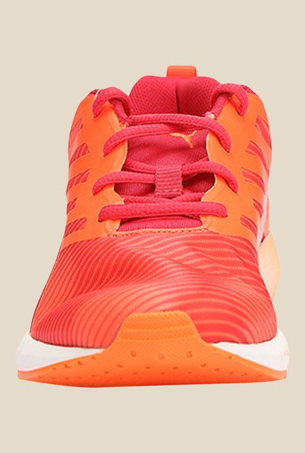 Puma Flare Graphic Rose Red & Peach Running Shoes