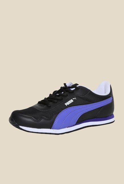 Puma Epoch DP Black & Blue Iris Sneakers