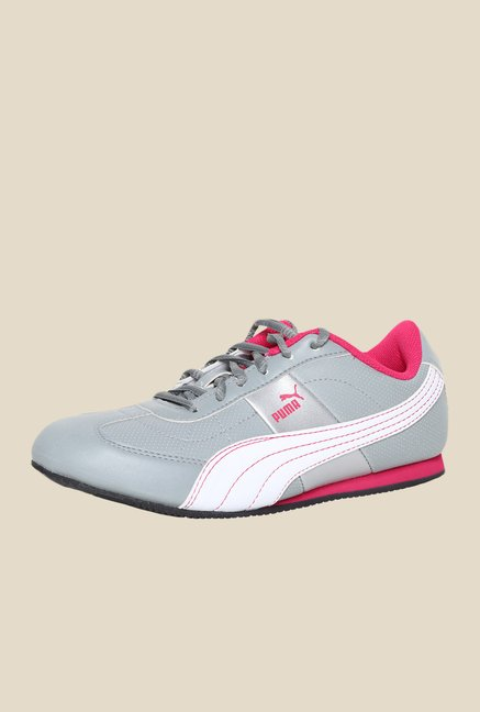 Puma Otise DP Quarry & Beetroot Grey Sneakers