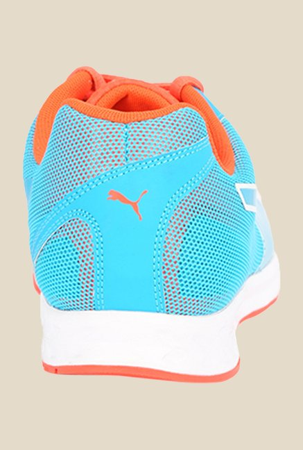 Puma Burst Blue & Red Blast Running Shoes