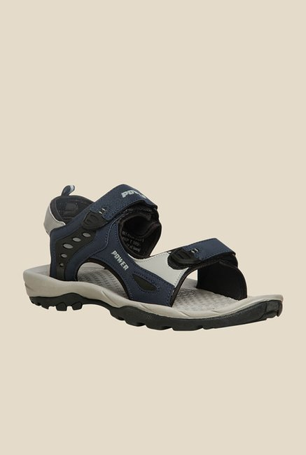 Power Ride 12 Navy & Grey Floater Sandals