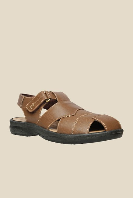 Bata Deallo-TG Brown Fisherman Sandals