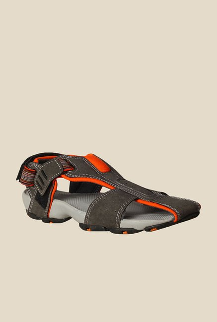 Bata Flash Grey Floater Sandals