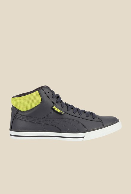 Puma Salz Mid DP periscope-lime punch Sneakers