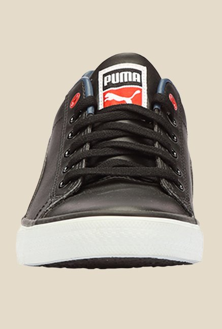 Puma Salz III DP Black & High Risk Red Sneakers