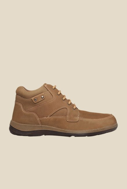 Weinbrenner Alps Hi-Ankle Brown Casual Boots