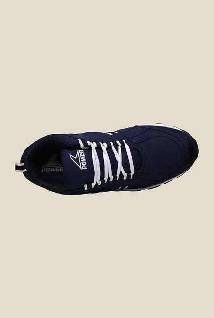 Power Grip Navy Running Shoes