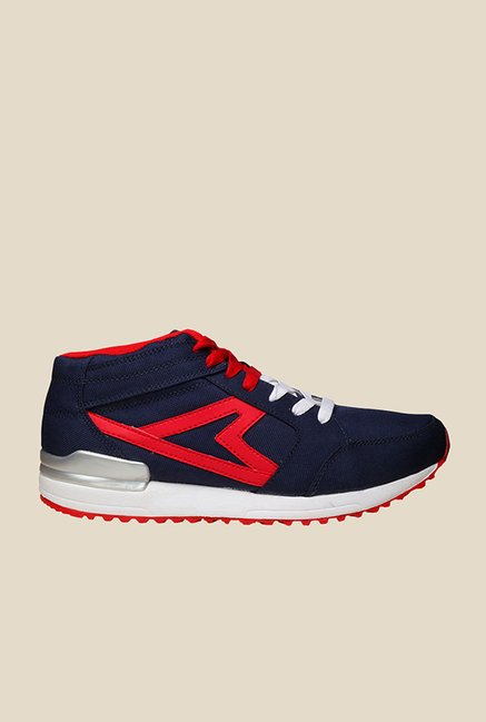 Power Jordan Navy & Red Running Shoes