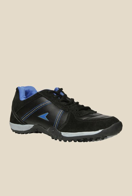 Power Street Black & Blue Running Shoes