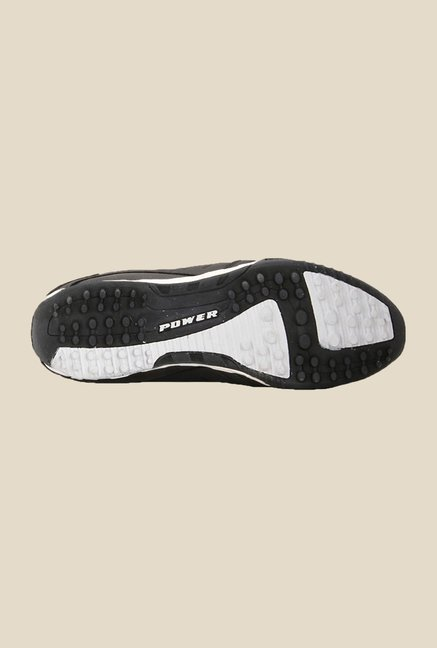 Power Turf 12 Black Running Shoes