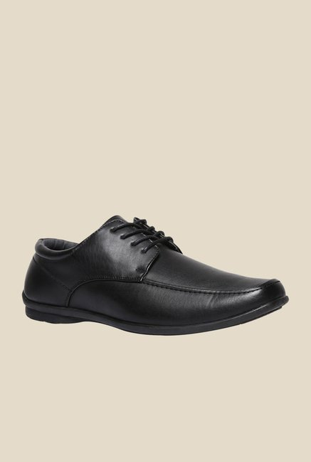 Bata Qiona Black Derby Shoes