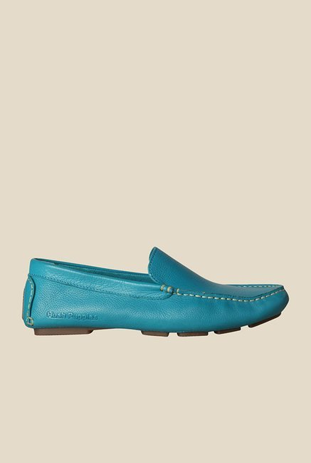 Hush Puppies Monaco Blue Loafers