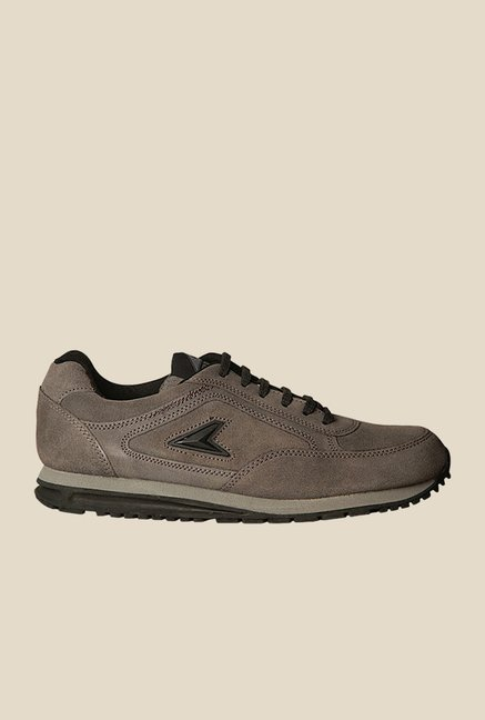 Power Extreme Leather Grey Casual Shoes