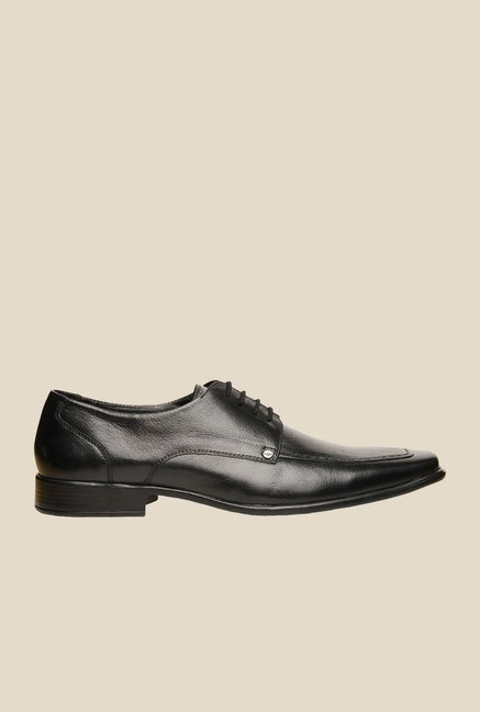 Hush Puppies Play Black Derby Shoes
