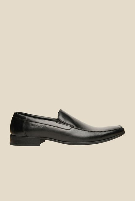 Hush Puppies Adley Black Slip-Ons