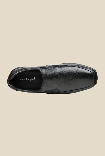 Hush Puppies Jungle II Black Slip-Ons