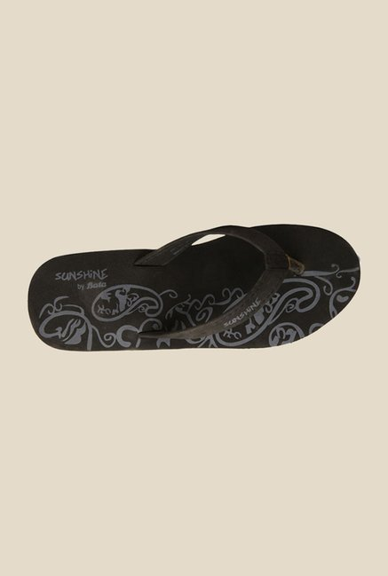Sunshine Orion Soft Black Flip Flops