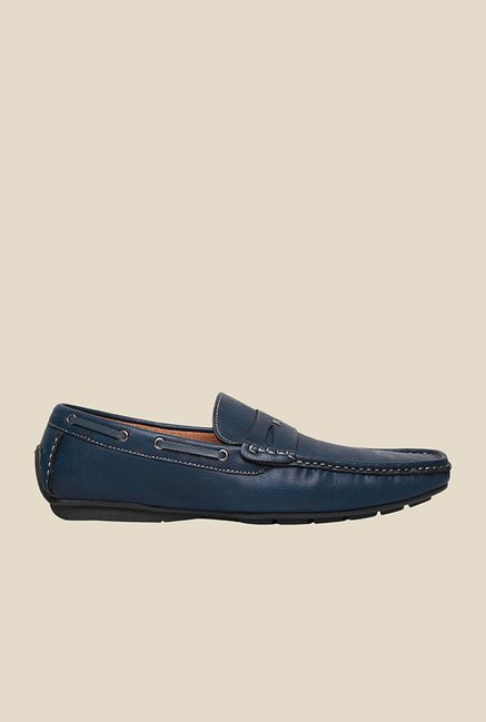 Bata Qman Navy Boat Shoes