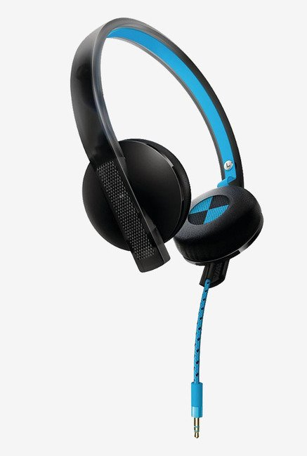 Philips O'Neill SHO4200BB/10 On the Ear Headphone (Blue)