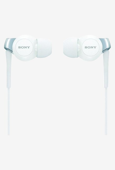 Sony MDR-EX300/WHI Vertical EX Style Headphones (White)