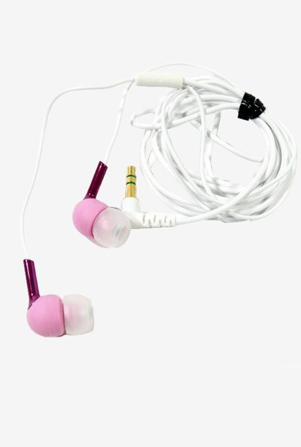 Sony Mdr-Ex55/Pnk Ex Earbuds with Silicon Housing (Pink)